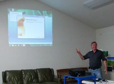 Curtis Knutson teaching