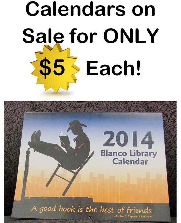 2014 calendar for sale