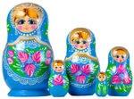 Matreskas nesting dolls