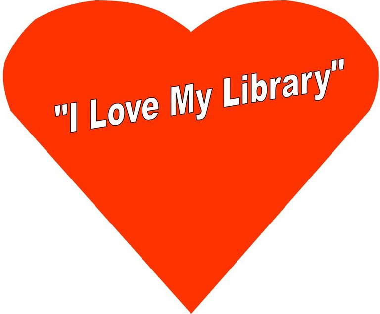 I heart my library