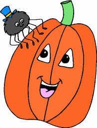 pumpkin and spider