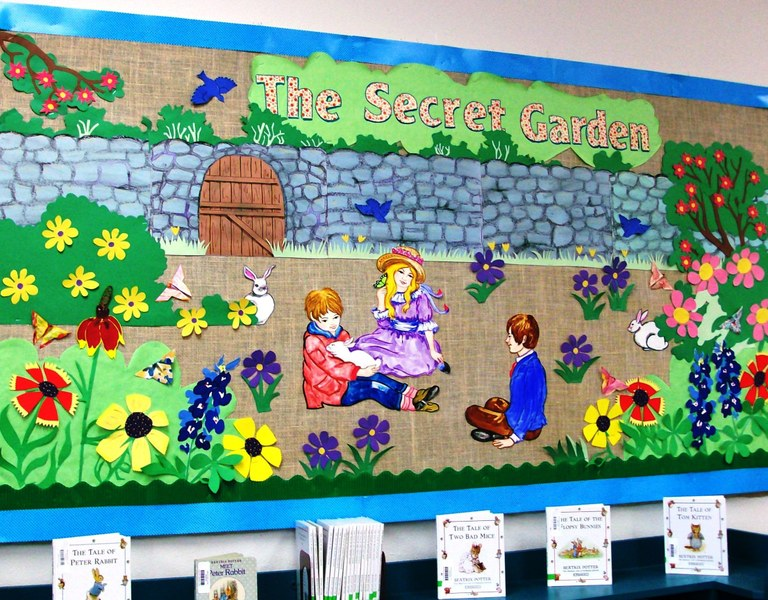 Secret Garden Bulletin Board