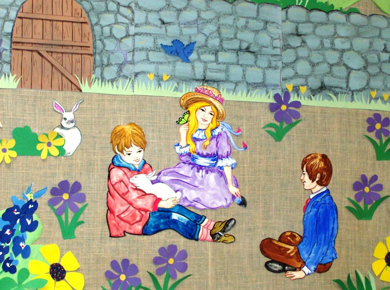The Secret Garden Bulletin Board
