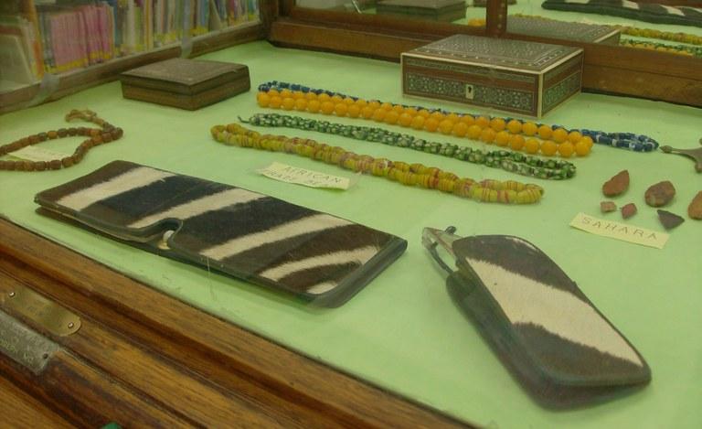 Display box of Alegerian artifacts3
