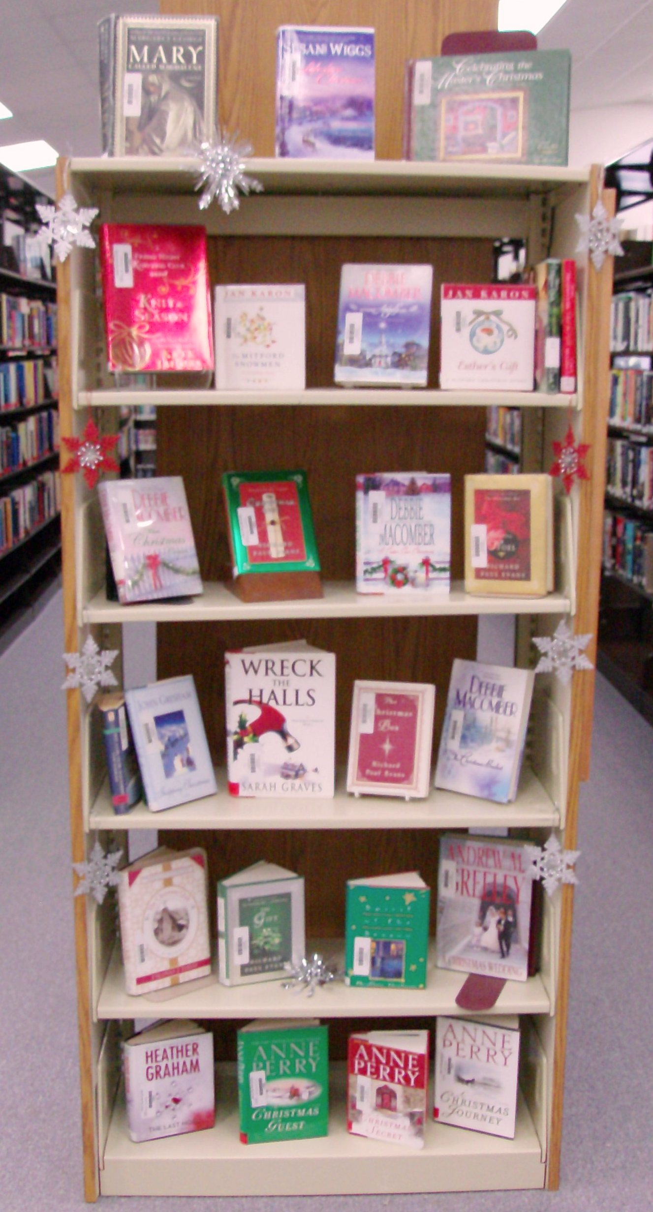 Bookcase display 12-9-10 -2