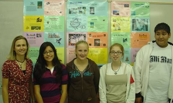 Eighth Graders Book Posters
