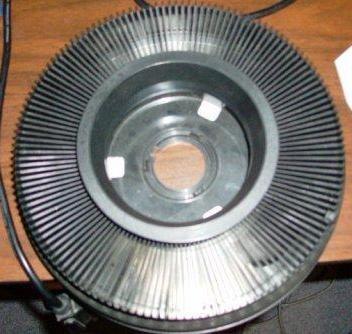 slide projector wheel