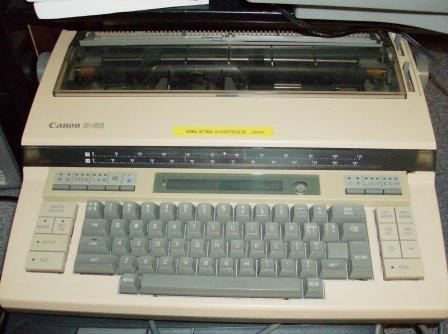 electric type writer
