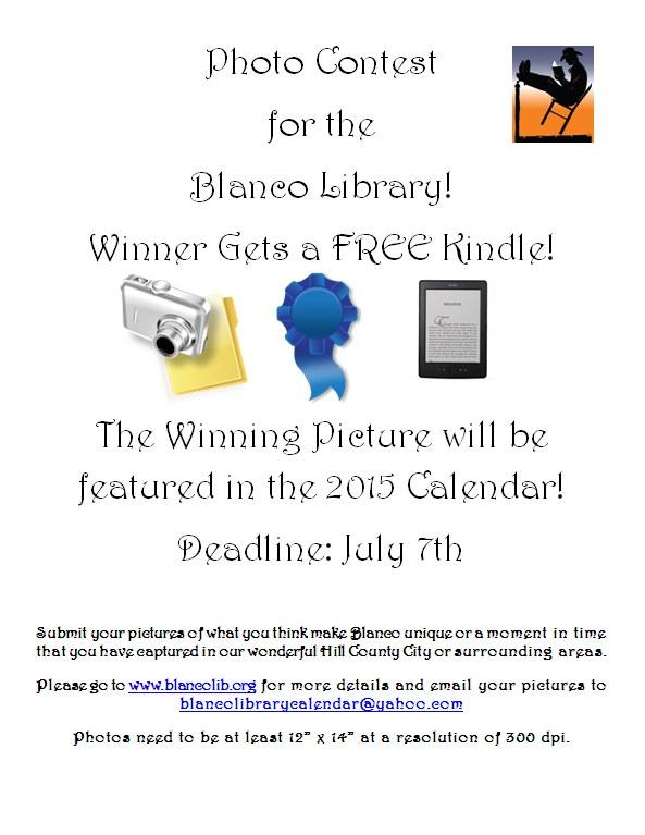 Calendar Photo Contest 2015