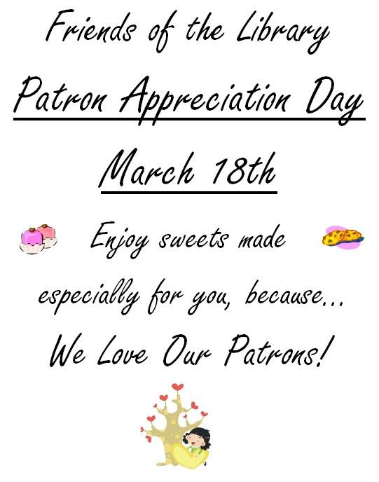 Patron Appreciation Day 2014