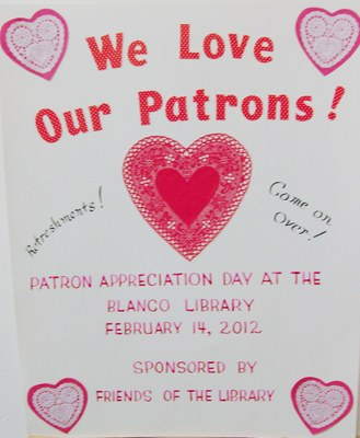 We Love Our Patrons