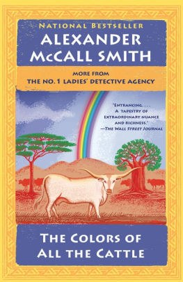 The Colors of All the Cattle (No. 1 Ladies' Detective Agency Series #19).jpg
