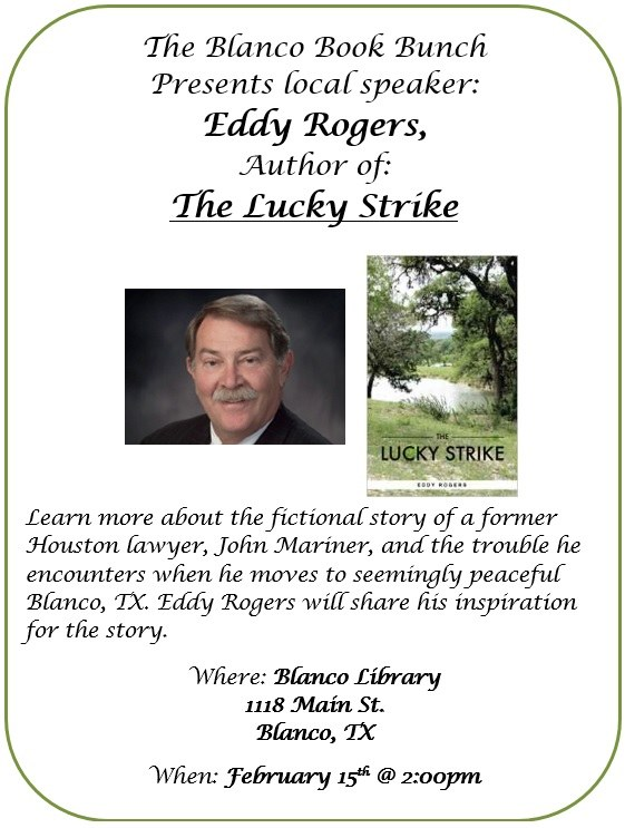 Eddy Rogers - Lucky Strike - Author Speak flyer pic.jpg