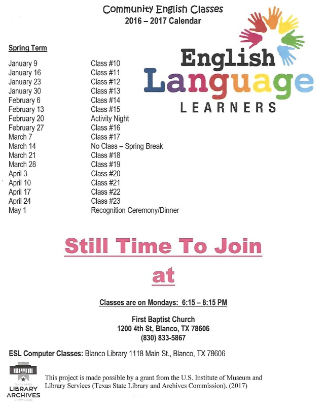 ESL - ELL Community English Classes 2016-2017 pic.jpg