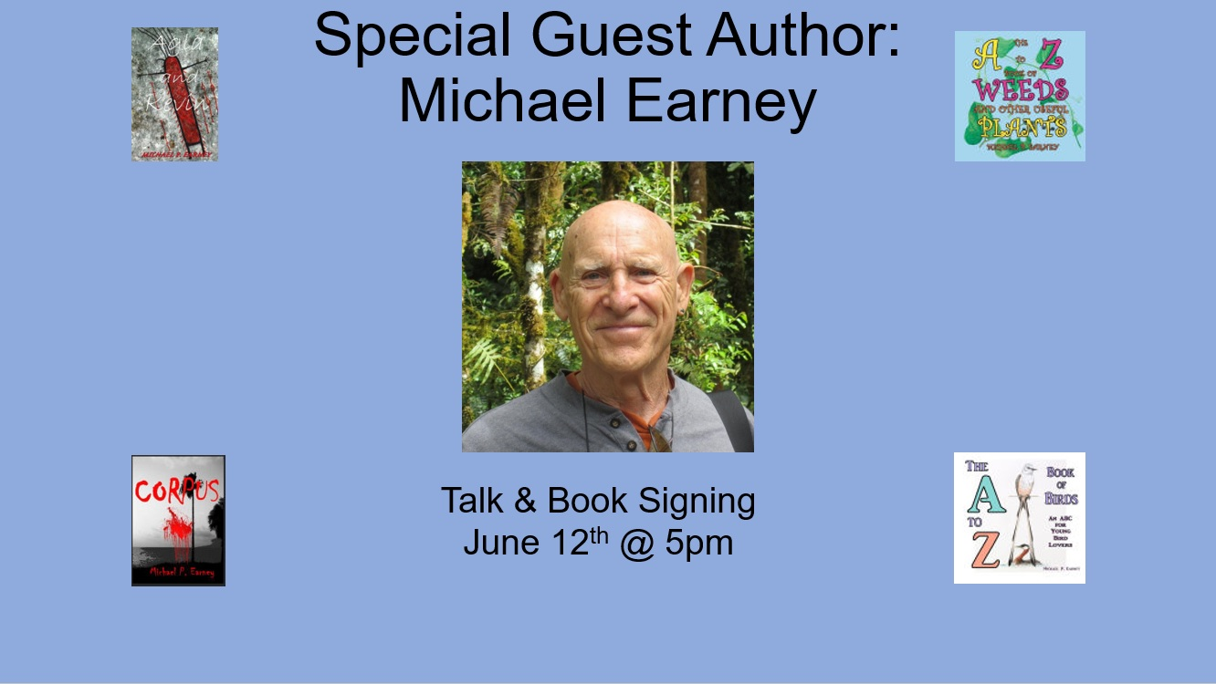 Guest Author Michael Earney - Announement 5-30-17.jpg