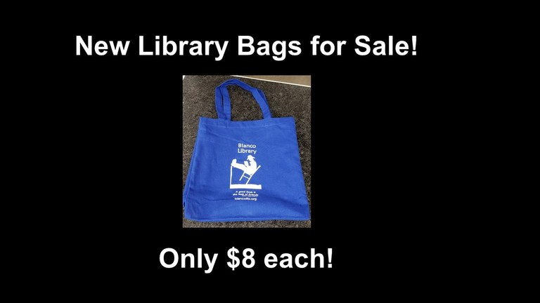 Library Bags for Sale - 6-25-19.jpg