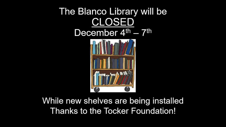 Library Closed for Bookshelves 12-6-17.jpg